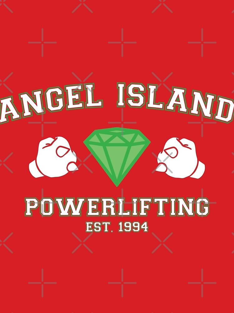 Angel Island Powerlifting by AllisonDawn15