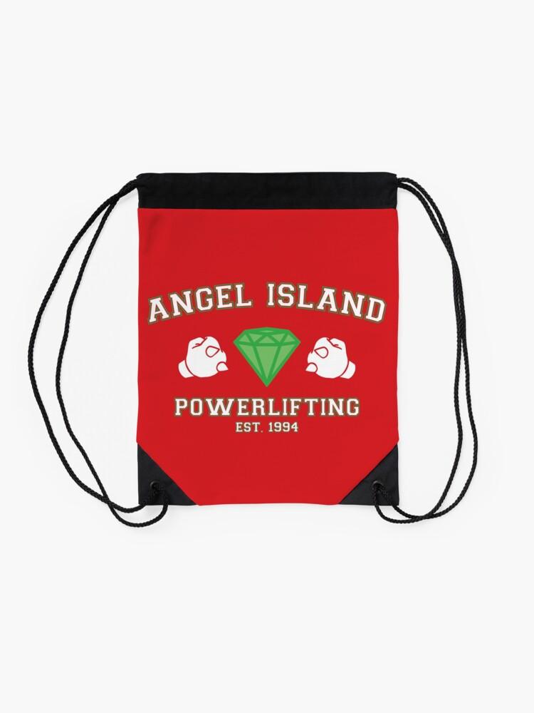 Alternate view of Angel Island Powerlifting Drawstring Bag
