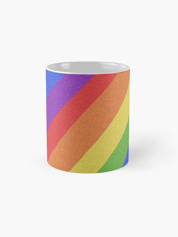 Alternate view of Pride Month - Rainbow and Bright - International World Pride Gift - LGBT - LGBTQ - LGBTQIA Mug