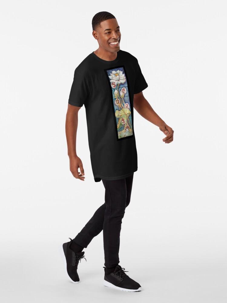 Alternate view of Lotusing Vibrance Long T-Shirt