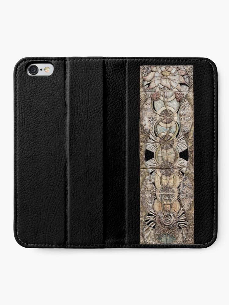 Alternate view of Lotus V: subtle energy  iPhone Wallet