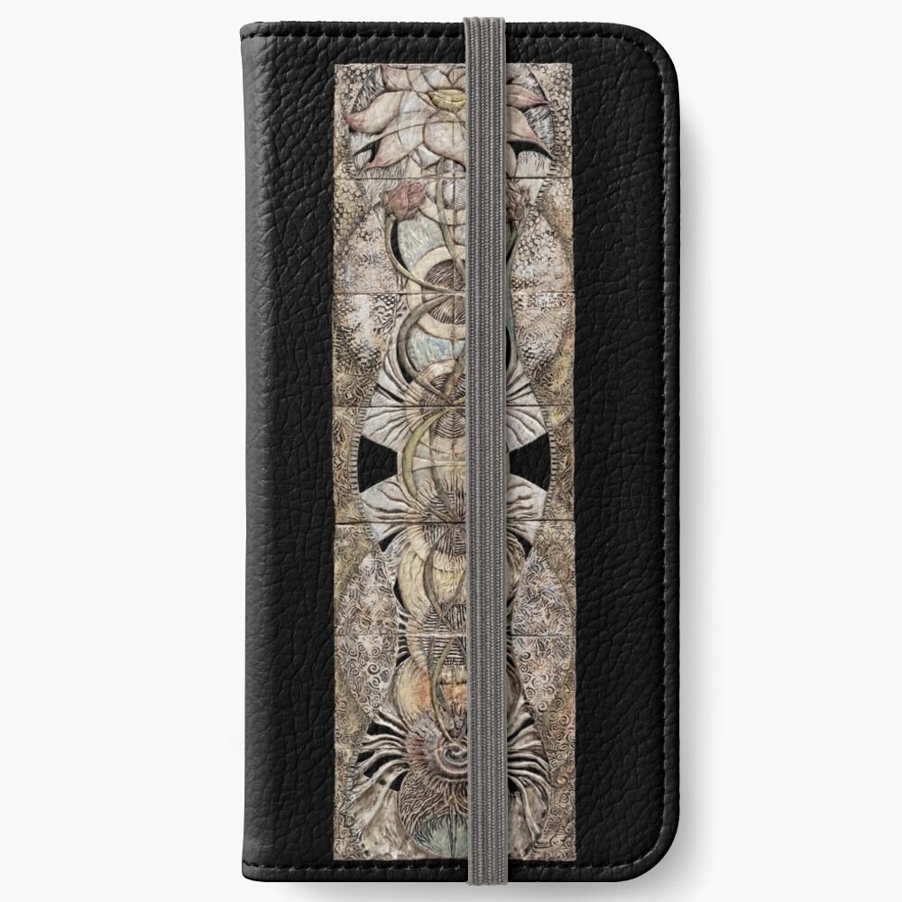 Lotus V: subtle energy  iPhone Wallet
