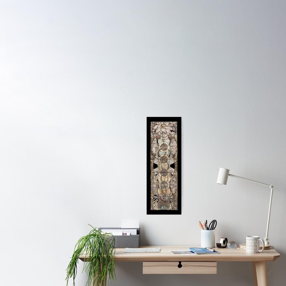 Lotus V: subtle energy  Poster