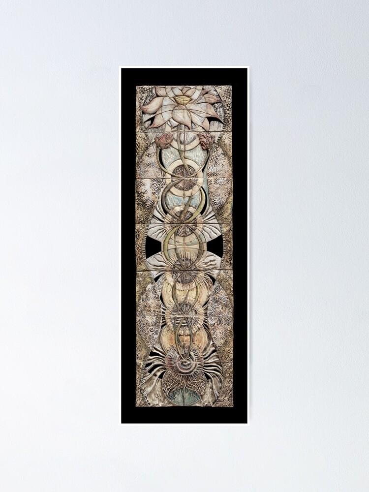 Alternate view of Lotus V: subtle energy  Poster
