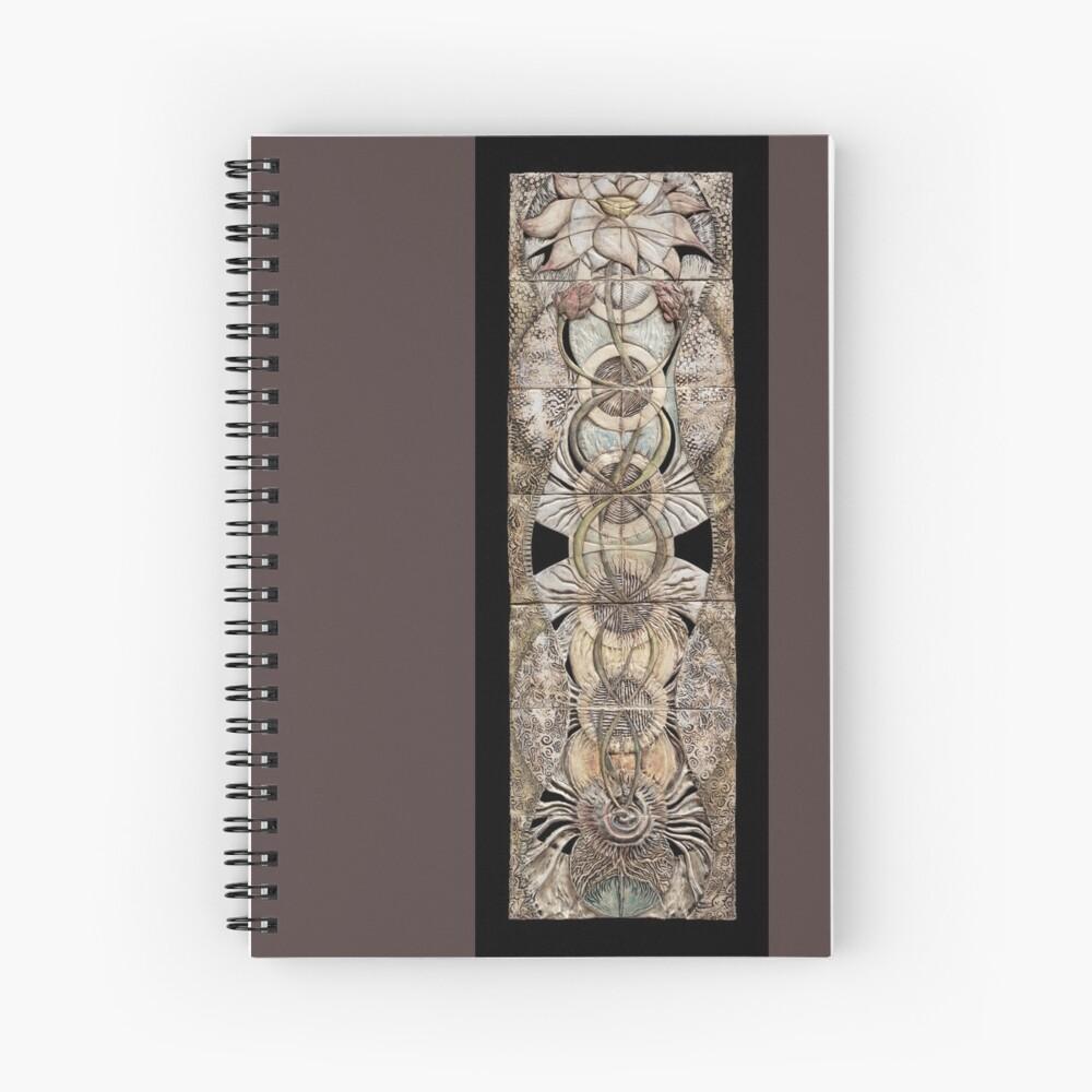 Lotus V: subtle energy  Spiral Notebook