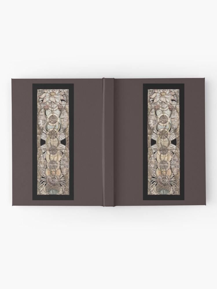 Alternate view of Lotus V: subtle energy  Hardcover Journal