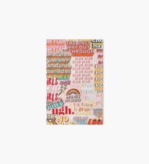 Vsco-Collage Galeriedruck
