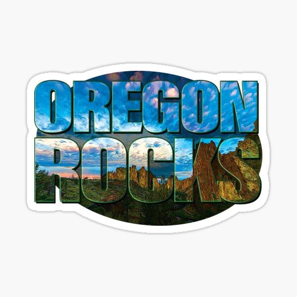Oregon Rocks Sticker