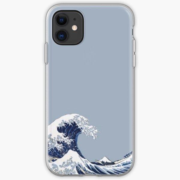 große Welle iPhone Flexible Hülle