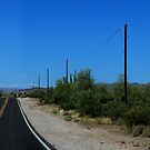 Scottsdale Desert road by amybrookman