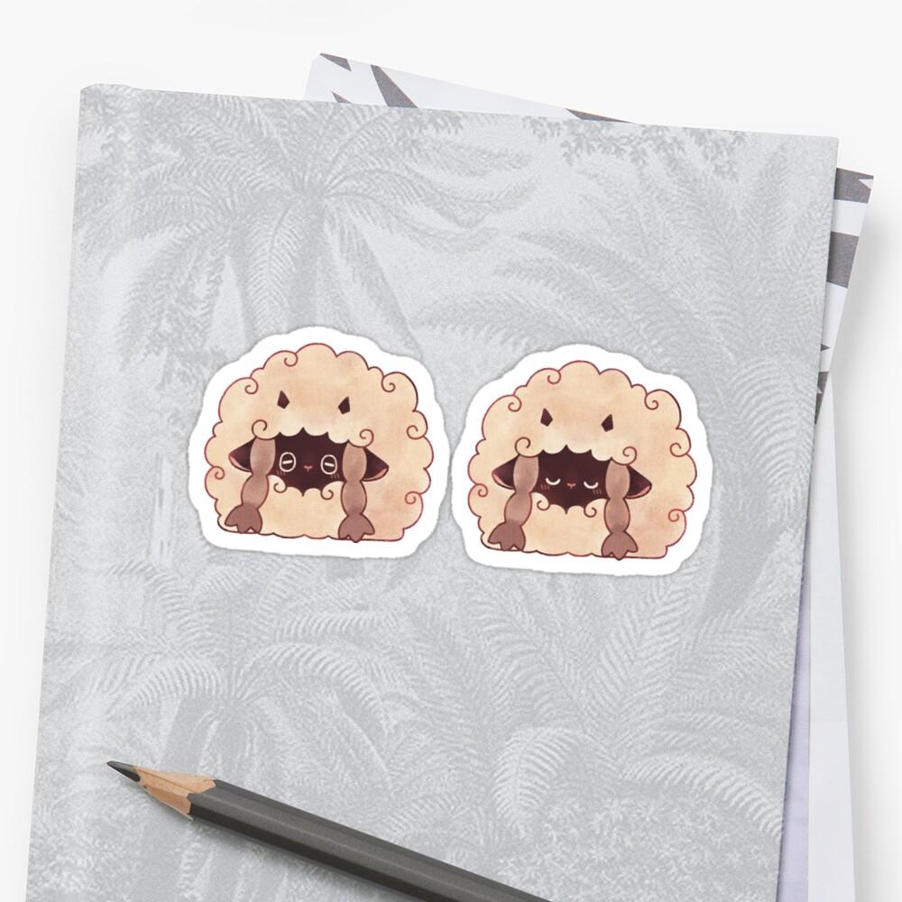 Sleepy Wooloo [B] Sticker