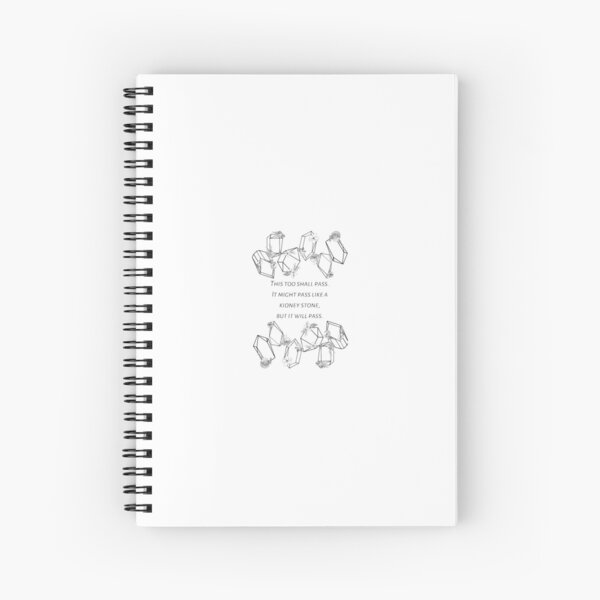 This too shall pass - Funny Spiral Notebook
