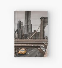 New York City Taxi Hardcover Journal
