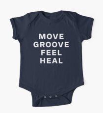 Dustin Ransom - Move Groove Feel Heal Short Sleeve Baby One-Piece