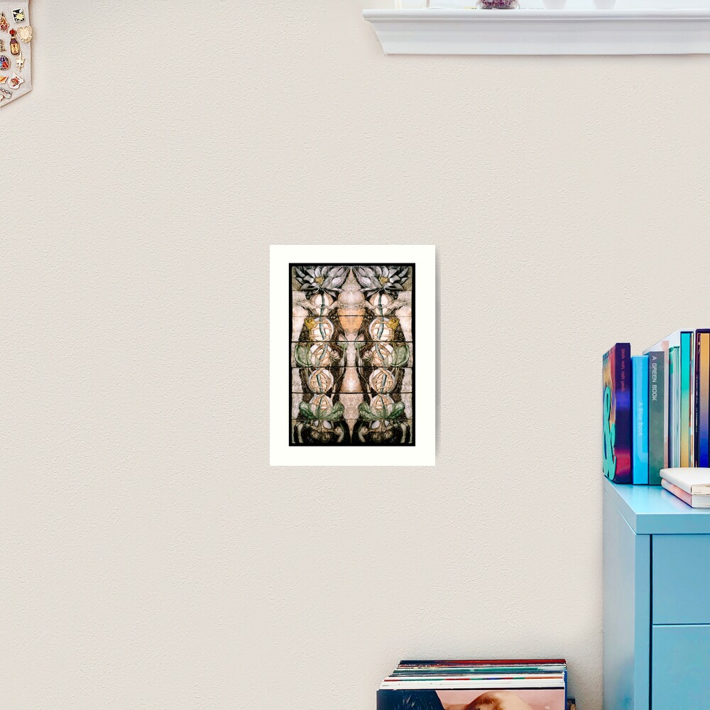 Double Helix Lotusing  Art Print