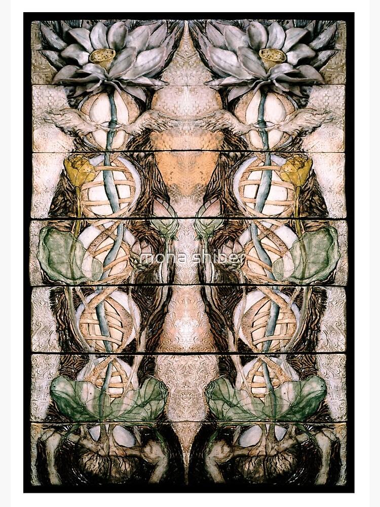 Double Helix Lotusing  by MonaShiber