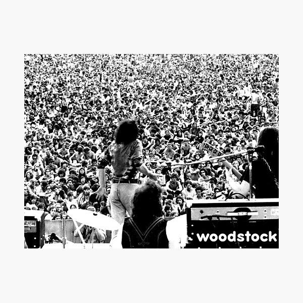 Woodstock Photographic Print