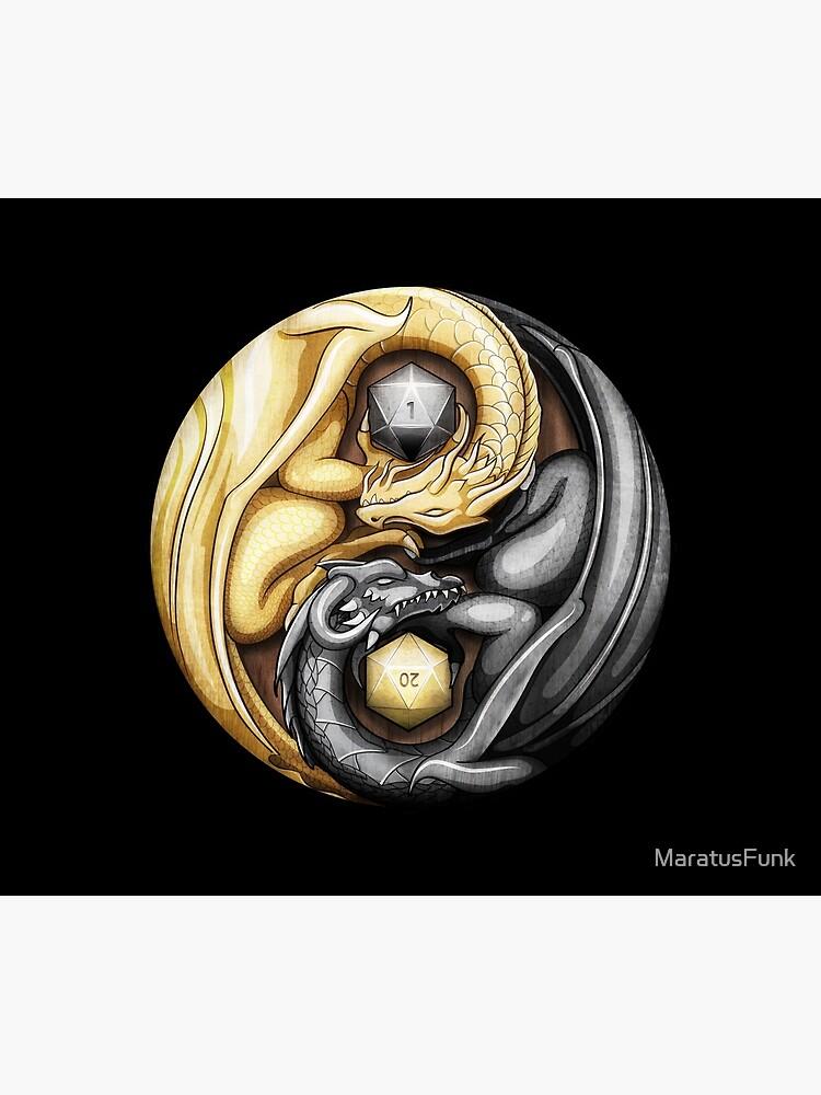 Balanced Dragons D20 by MaratusFunk