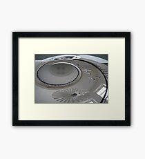 Spirally Stairwell Framed Print