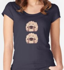 Sleepy Wooloo [C] Fitted Scoop T-Shirt