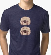 Sleepy Wooloo [C] Tri-blend T-Shirt