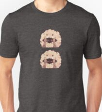 Sleepy Wooloo [C] Slim Fit T-Shirt