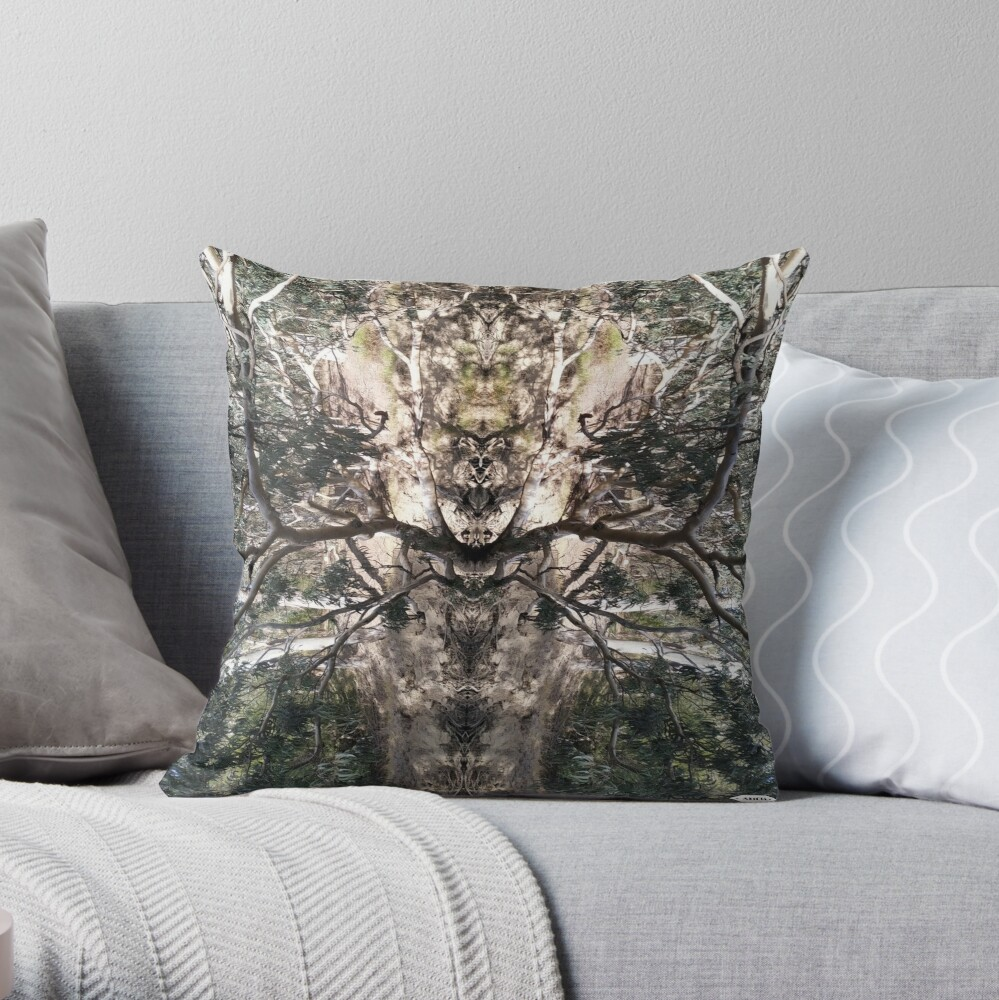 Nature's Stag Throw Pillow