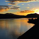 Green Mountain Resivoir by Carl M. Moore