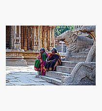 Gatekeepers of  Hinduism  Photographic Print