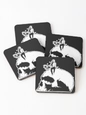 The Giant's Giant Skull Coasters
