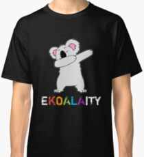Dabbing Koala Bear Gay Lesbian Pride Ekoalaity LBGTQ Classic T-Shirt