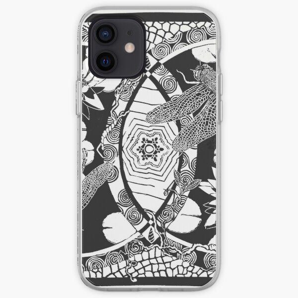 THANK YOU (black on white) iPhone Soft Case