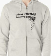 TheDAO is Getting Drained Zipped Hoodie