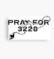 Pray for 3228 Canvas Print