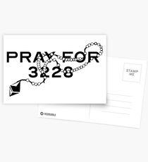Pray for 3228 Postcards