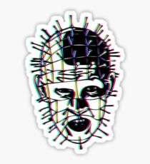 Psychedelic Pinhead  Sticker