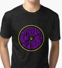 Purple Puss Tri-blend T-Shirt