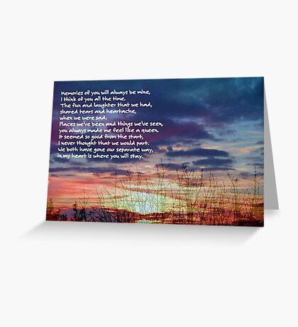 Memories of You ©  Greeting Card