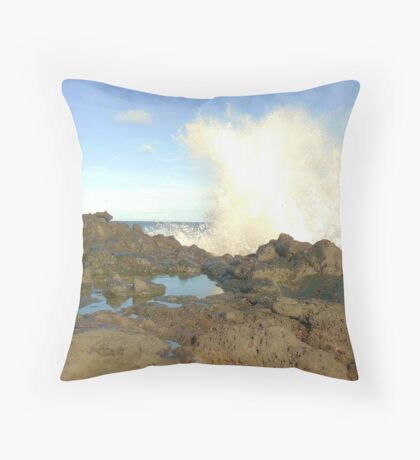 Boomspray Throw Pillow