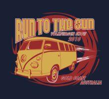 Volkswagen Tee Shirt - Run to the Sun 2010 - Splitty