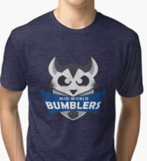 The Mid-World Bumblers  Tri-blend T-Shirt