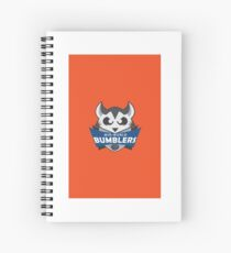 The Mid-World Bumblers  Spiral Notebook