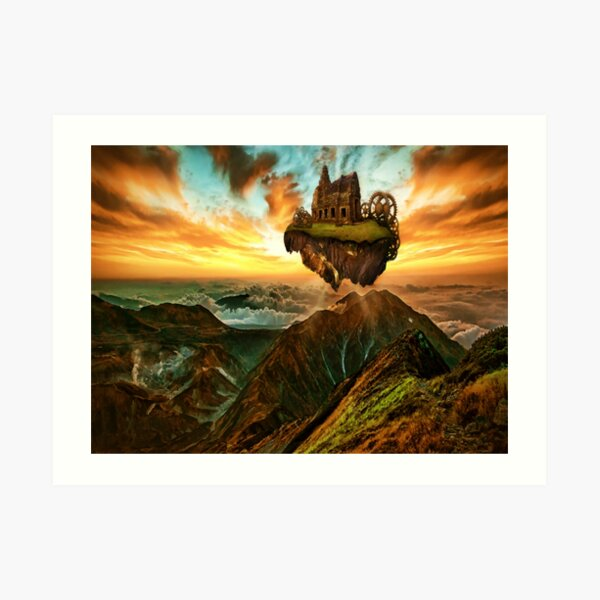 Steampunk | 19th century Science Fantasy |  Steam Powered Machinery Art Print