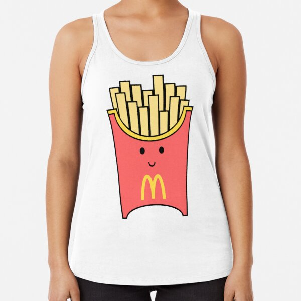Mcdonalds fries Racerback Tank Top
