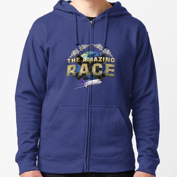 The Amazing Race Earth 3 Zipped Hoodie