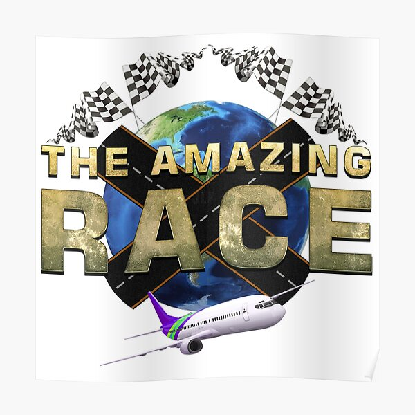 The Amazing Race Earth 3 Poster