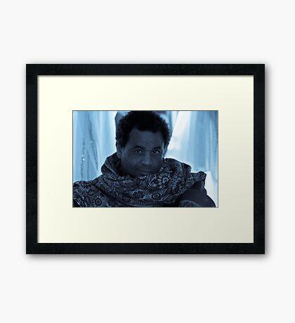 The African Trader Pt 1 Framed Print