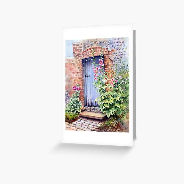 Blue Door at Arundel Greeting Card