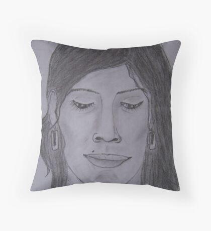 Lajja..!! Throw Pillow