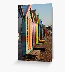 'Beach Shacks' Greeting Card